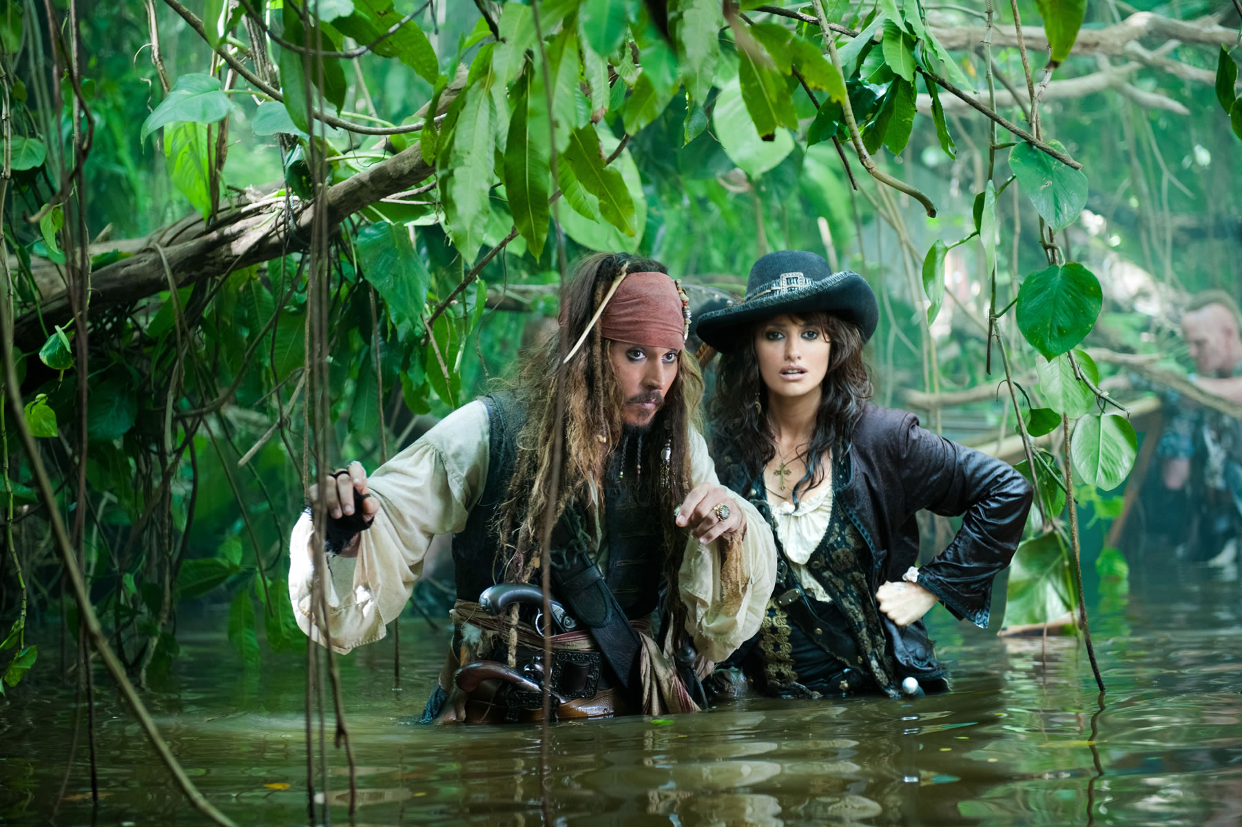 ... Penélope Cruz star in PIRATES OF THE CARIBBEAN: ON STRANGER TIDES