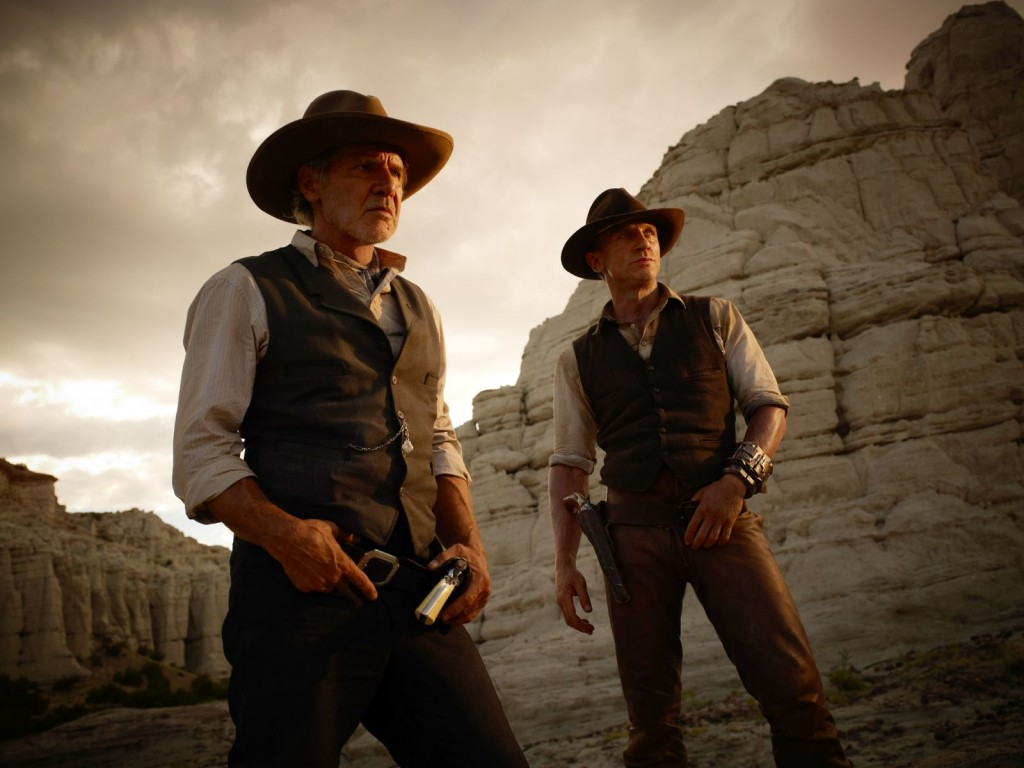 Harrison Ford and Daniel Craig vie for box office gold with COWBOYS & ALIENS.