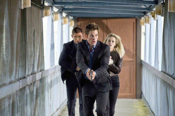 Tom Hardy, Chris Pine, and Reese Witherspoon star in THIS MEANS WAR.